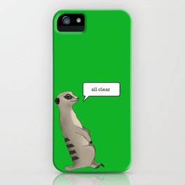 Guardsman of the year 3 iPhone Case