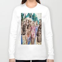grateful dead Long Sleeve T-shirts featuring Dark Star Orchestra Grateful Dead Painting by Acorn