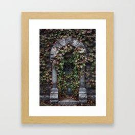 Sleepy Hollow Cemetery Framed Art Print