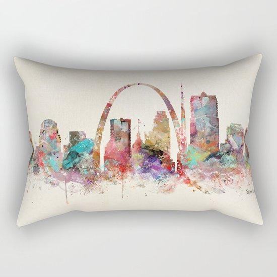 saint louis missouri Rectangular Pillow