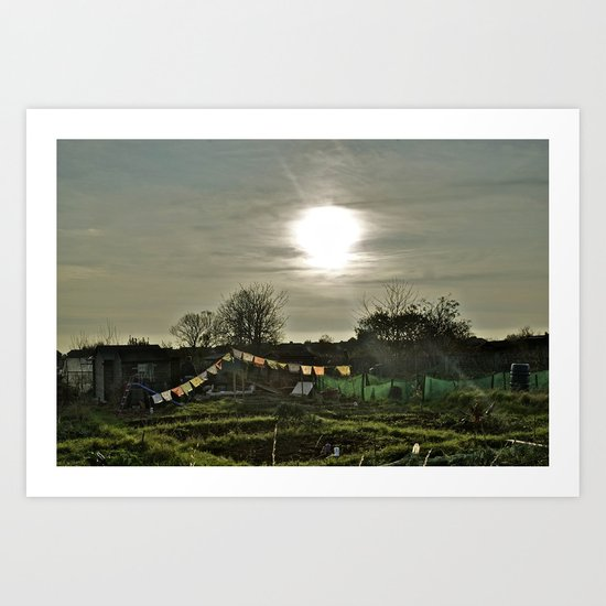 Spiritual Allotment Art Print