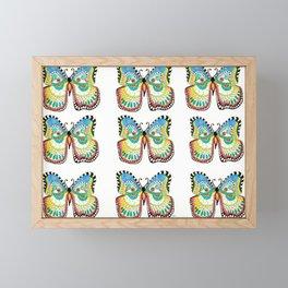 Fanciful Butterflies Framed Mini Art Print