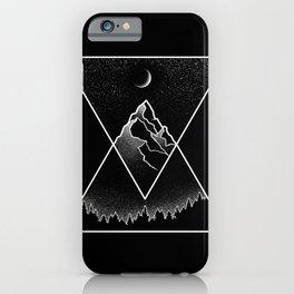 Pyramidal Peaks iPhone Case