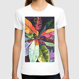 Kauai Croton Leaves T-shirt