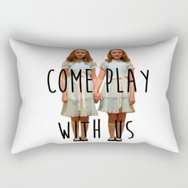 Come play with us Rectangular Pillow