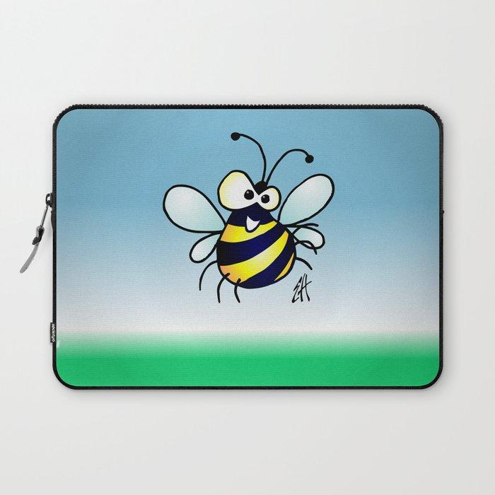 Bumbling Bee Laptop Sleeve