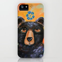 Bearly Springtime iPhone Case