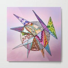 fantastic geometrical forms -6- Metal Print