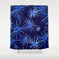 coconut wishes Shower Curtains featuring Wishes by Julia Hendrickson