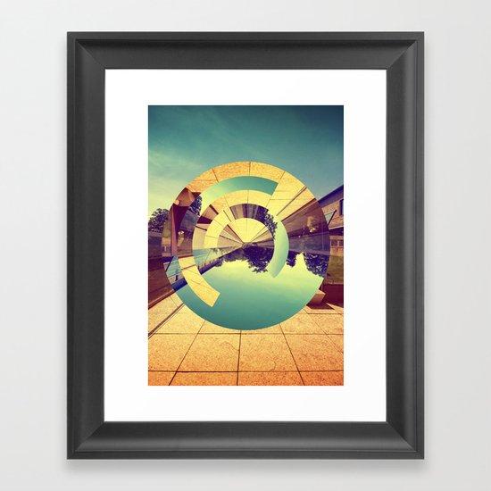 L'Infinito Framed Art Print