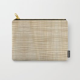 Spalted Maple Wood Carry-All Pouch