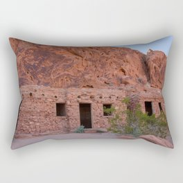 CCC Cabins-1, Valley of Fire State Park, Nevada Rectangular Pillow
