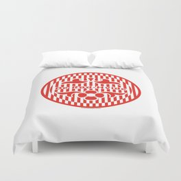 Denmark De Rød-Hvide (The Red-White) ~Group C~ Duvet Cover
