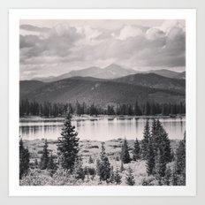 Echo Lake, Colorado Art Print