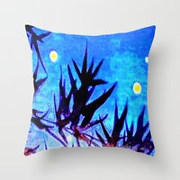 firefly Throw Pillows featuring Firefly by Puttha Rayan Ali
