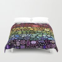 gem Duvet Covers featuring Gem Collection by Alisa Galitsyna