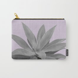 Lavender Gray Agave Vibes #1 #tropical #decor #art #society6 Carry-All Pouch