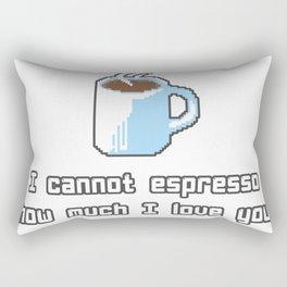 Coffee I cannot Rectangular Pillow
