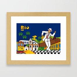 Rio Bohemia Framed Art Print