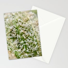 Gorilla Glue #4 Top Shelf Indoor Hydroponic Trichomes Close Up GG#4 Stationery Cards