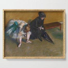 Edgar Degas - Waiting Serving Tray