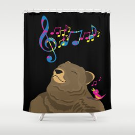 I See Music Shower Curtain