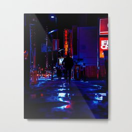 out for the night Metal Print