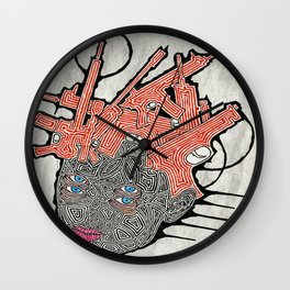 Headhunter Wall Clock