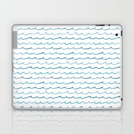 watercolor waves Laptop & iPad Skin