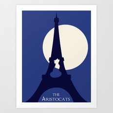 The aristocats Art Print
