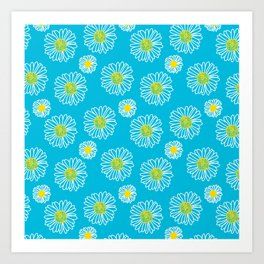 Daisies Galore Art Print