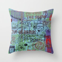 Unitree One Throw Pillow