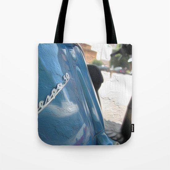 Vespa dreaming Tote Bag