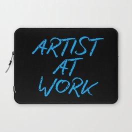 Artist at Work (blue) Laptop Sleeve