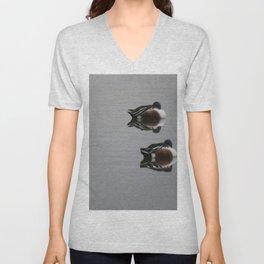 Ducks a reflection Unisex V-Neck