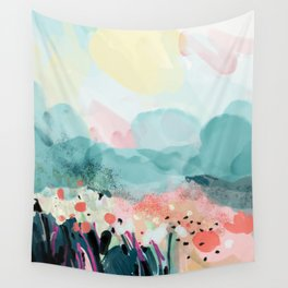 spring landscape Wall Tapestry