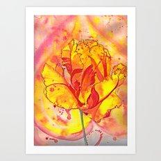 Beltane fire Art Print