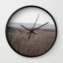 carrizo plain Wall Clock