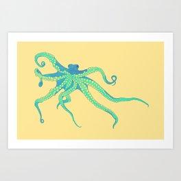 Bodacious Octopus Art Print