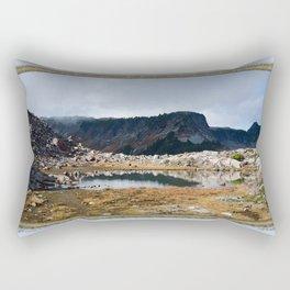 BRIGHT SUNNY BREAK AMONG DEEP SHADOWS  Rectangular Pillow