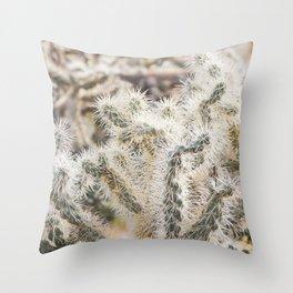 Sonoran Cactus Throw Pillow