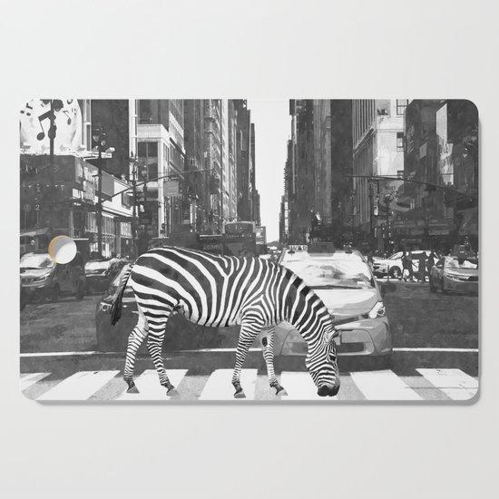 Black and White Zebra in NYC by alemi