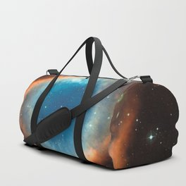 God's Eye Nebula Deep Space Telescopic Photograph No. 2 Duffle Bag