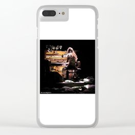 Live weird piano Clear iPhone Case