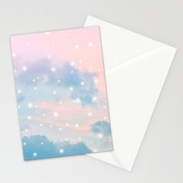Pastel Cosmos Dream #2 #decor #art #society6 Stationery Cards