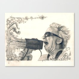 The Mollusk Lingers... Canvas Print