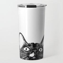 Louie The Cat Travel Mug