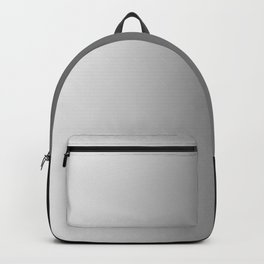 White to Black Vertical Linear Gradient Backpack