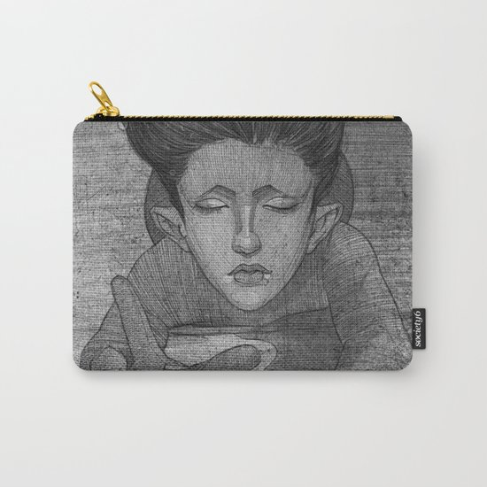 Sea Lady illustration Carry-All Pouch
