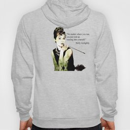 MISS GLOLIGHTLY - Breakfast at Tiffany´s - QUOTE Hoody